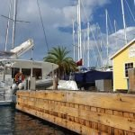 dream yacht charter base and boat in antigua