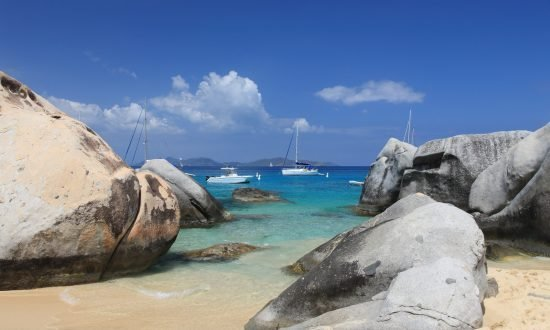 the baths at virgin gorda in the bvi
