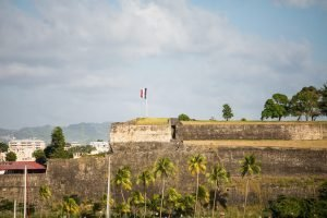fort in the city of martinique