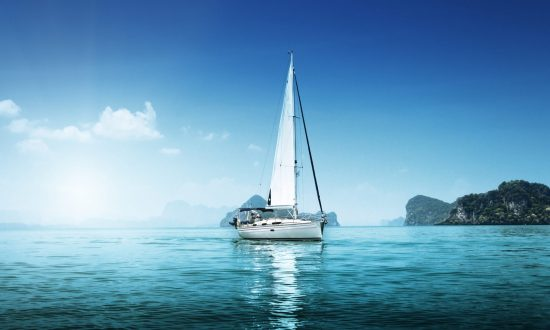 boat sailing on the water