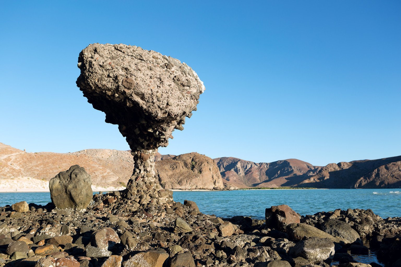 rock formation in la paz