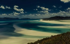 Australia sand and water beaches
