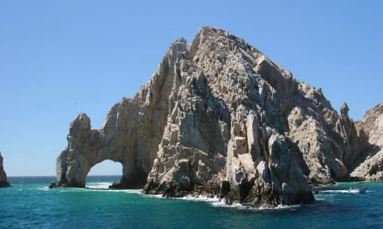 tall rock formations in la paz