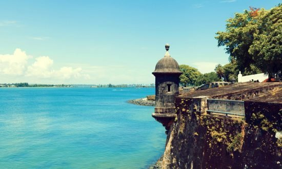 fort at the edge of puerto rico
