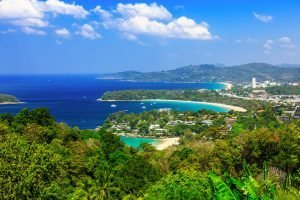 kata noi view point Karon Beach of Phuket Thailand
