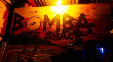 Bomba Shack at the Full Moon Party