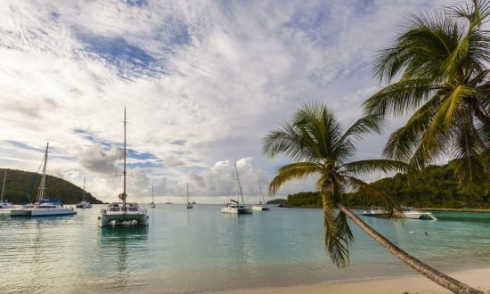 Grenadines island sailing