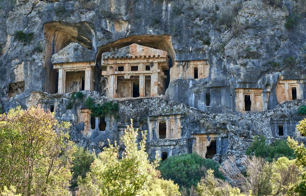 The Ancient Tombs of Pinara in Fethiye