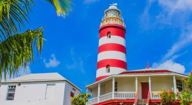 The light house in the Bahamas