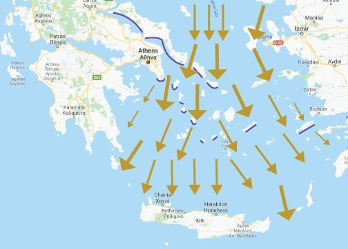 Mastering the Meltemi for Exhilarating Aegean Sailing in Greece