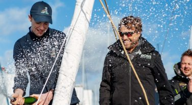 Alex Thomson names new Dream Yacht Charter yacht, 'Oarsome Dream'