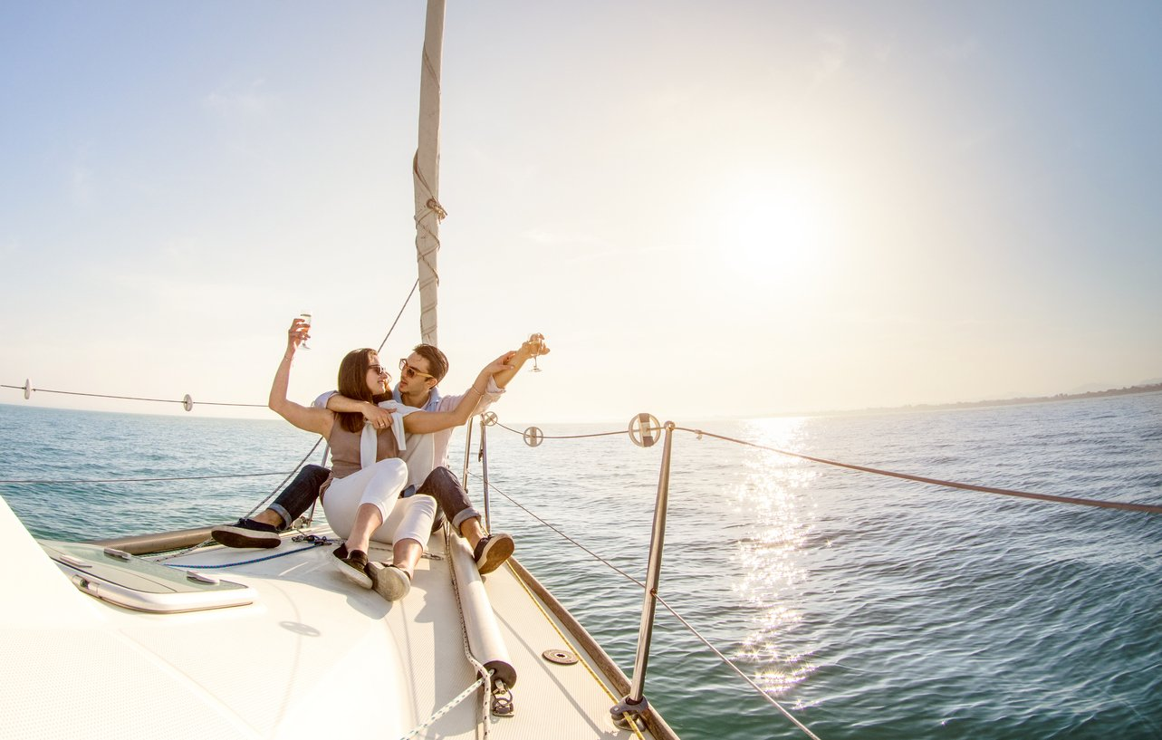 Top Five Romantic Sailing Vacation Package Honeymoons Dream Yacht