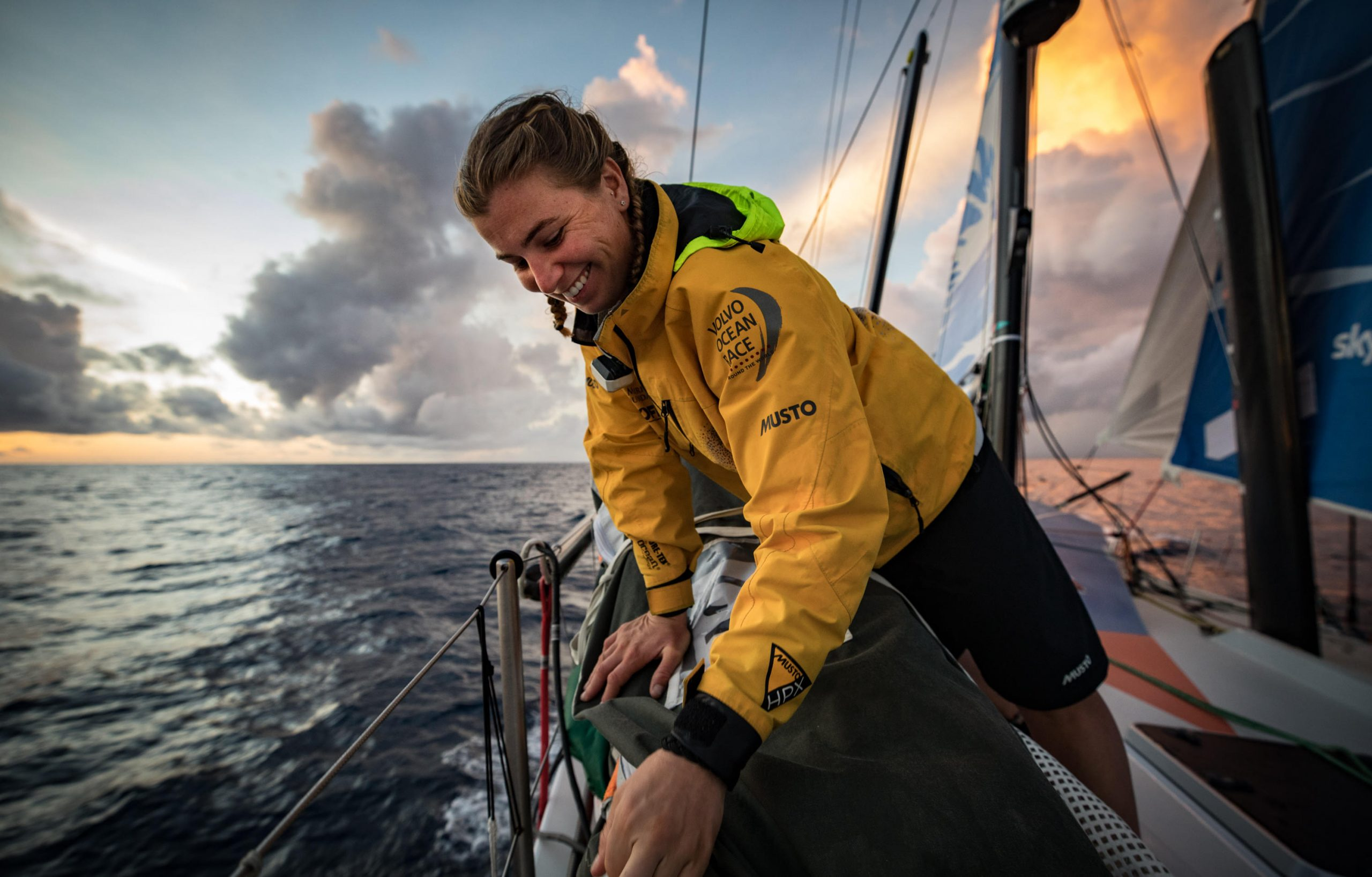 Volvo Ocean Race 2021 sailor Bianca Cook