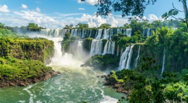 Brazil Igiazu Waterfall