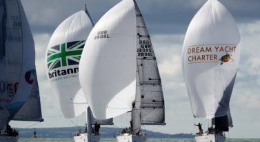 DYC and Britannia Sails on the Solent