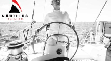 Nautilus sailor at the helm