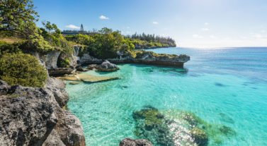 New Caledonia coast