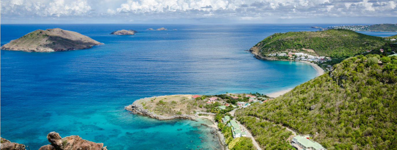 New by the cabin charter route in St. Barts
