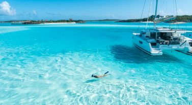Bahamas swimming